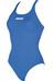 arena Solid Swim Pro Badpak Dames blauw